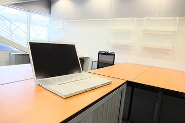 Interior of a new office