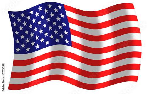 Drapeau des etats unis d 39 am rique usa ciel et vent photo libre de droits sur la banque d - Drapeau de l amerique ...