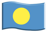 Drapeau du Palau poster