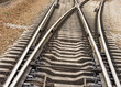 rail road goes to different ways