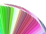 palette de couleurs poster