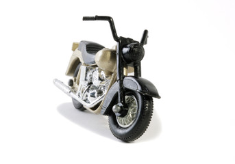 retro seventies classic bike model toy
