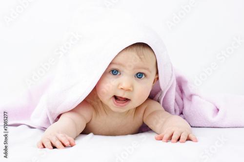 Leinwandbild Motiv bébé