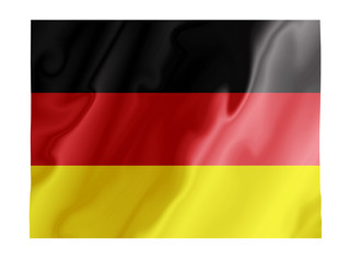 Germany fluttering