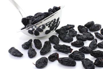 Full of raisins