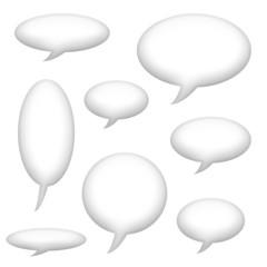 Speech Announcement Bubbles