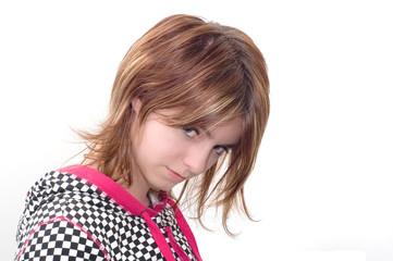 Unruly girl