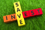 Save and Invest poster