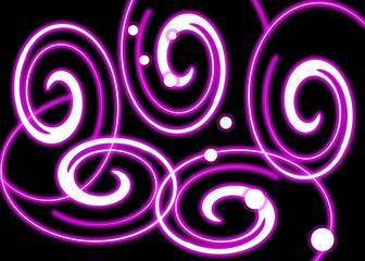 Curly Swirls