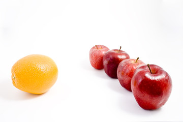 An Orange among Apples