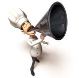Fototapety Chef cuisinier