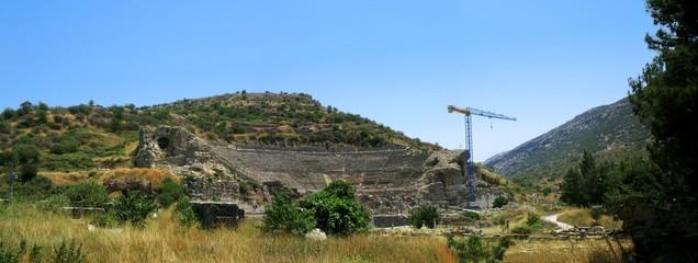 Panorama of amphitheatre