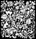 complicated white decoration poster