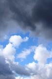 Overcast sky poster