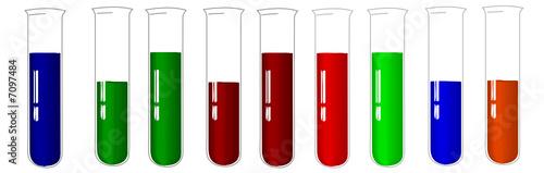 tubos de ensaio