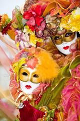 Colorful Venetian Costume