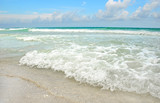 Beautiful Beach and Ocean poster