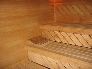 Sauna a tree furnish
