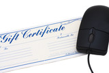 Online Gift Certificate poster