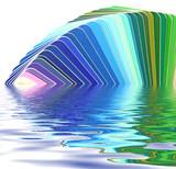 harmonie de couleurs poster