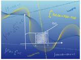 Maths Abstract Integration poster