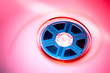 Colorful film reel concept