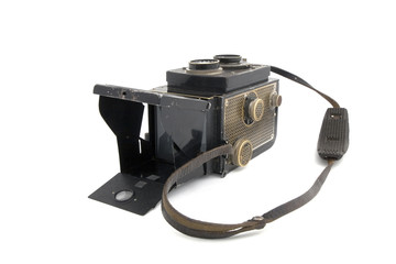 Old retro Photo camera