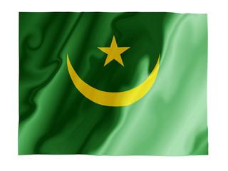 Mauritania fluttering