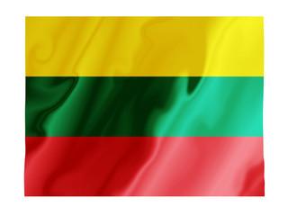 Lithuania fluttering