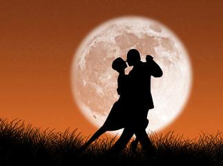 Tango nella luna
