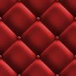 roleta: red upholstery