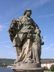 Würzburg Brückenfigur Heiliger Josef