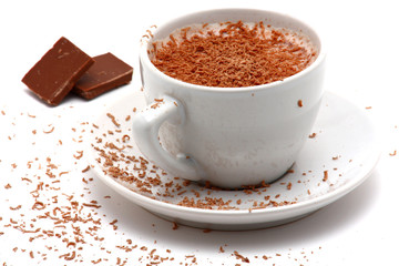 cappucino and chocolate