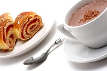 breakfast time / cappucino