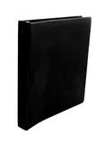 black binder poster