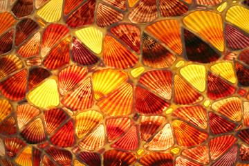 See shells mosaic