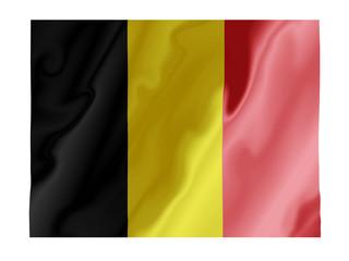 Belgium fluttering