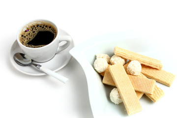 cup of coffee and delicious