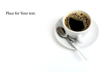 coffee / place for your text