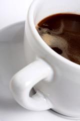 black coffee / macro photo