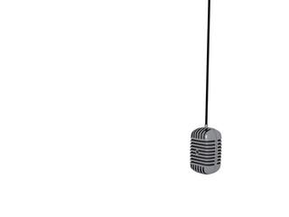 Hanging Elvis Microphone © redrex