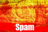 Spam Email Alert Warning Message poster