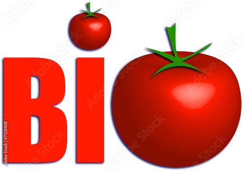 Bio Logo Tomate From Pro Web Design Royalty Free Stock