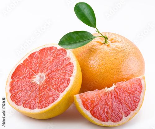Leinwanddruck Bild grapefruit