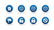 Web icons set | Aloha series