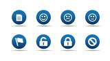 Web icons set   Aloha series