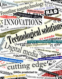 Technology headlines poster