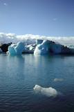 Foreground iceberg poster
