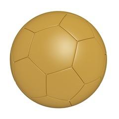 gold 3d football