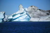 Icelandic icebergs poster